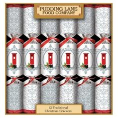 Red Post Box Pillar Box Christmas Crackers - 12 pack - Sold Out