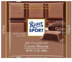 Ritter Sport Cocoa Mousse - 100g- Sold Out