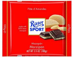 Ritter Sport Marzipan - 100g- Out Of Stock