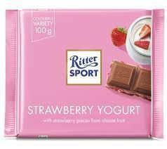 Ritter Sport Strawberry Yogurt - 100g - BB May 2021