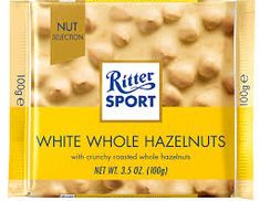 Ritter Sport White Whole Hazelnuts - 100g - Sold Out