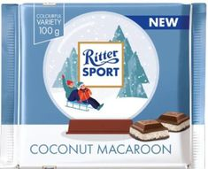 Ritter Sport Winter Edition Coconut Macaroon 100g - Sold Out