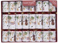 Robin Reed Concerto Fanfare Crackers - 8 pack - Sold Out
