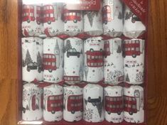Robin Reed London Sights Crackers - 6 pack