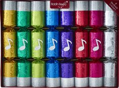 Robin Reed Mini Chorus Musical Crackers - 8 pack -  - Sold Out