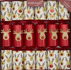 Robin Reed Racing Reindeer Crackers - 6 pack - Sold Out