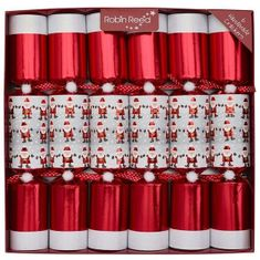 Robin Reed Racing Santa Crackers - 6 pack - Sold Out