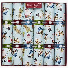Robin Reed Racing Snowmen Crackers - 6 pack - Sold Out