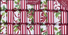 Robin Reed Ribbons and Holly Crackers - 10pk - Sold Out