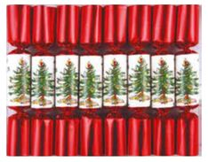 Robin Reed Mini Tree Spode Crackers - 8pk- Sold Out