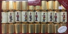 Robin Reed Traditional Small Nutcrackers Crackers - 10 pack - Sold Out