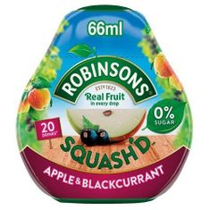 Robinsons Squash'd Water Enhancer Drops - Apple and Blackcurrant 66ml