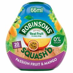 Robinsons Squash'd Water Enhancer Drops - Passion Fruit and Mango 66ml