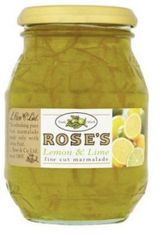Rose's Lemon and Lime Fine Cut Marmalade - 454g