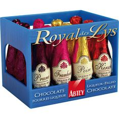 Abtey Royal des Lys Liqueur-Filled Bottles Crate - 12pc - Sold Out
