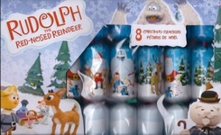 Rudolph Red Nose Reindeer Design Crackers - 8 pack - Sold Out