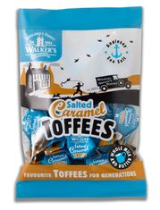 Walker's Nonsuch Salted Caramel Toffees - 150g