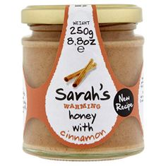Sarah's Warming Honey with Cinnamon - 250g