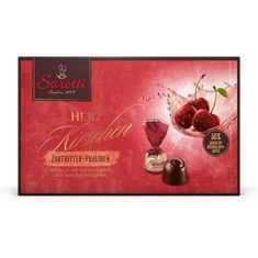 Sarotti Dark Chocolate Covered Liqueur Cherries - 250g -Sold Out 2020