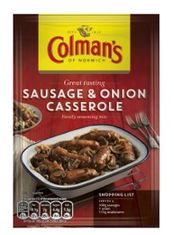 Colman's Sausage and Onion Casserole - 45g - Sold Out