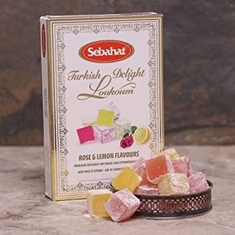 Sebahat Turkish Delight Rose & Lemon Flavours - 250g - Sold Out 2020