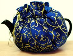 Shimmering Scroll Tea Cozy - Sold Out