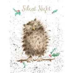"""Silent Night"" Card - Sold Out"
