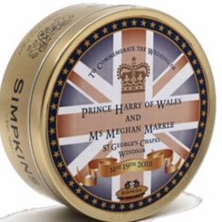 Simpkins Commemorative Harry and Meghan Travel Sweets - 200g
