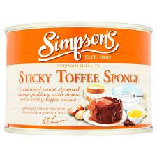 Simpson's Sticky Toffee Sponge - 300g - Sold Out