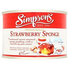 Simpson's Strawberry Sponge - 300g - Sold Out
