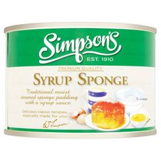 Simpson's Syrup Sponge - 300g - Sold Out