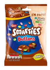 Smarties Buttons Pouch - 90g