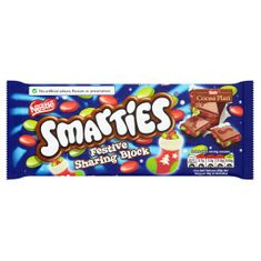 Smarties Festive Block  - 100g - Not Available 2019