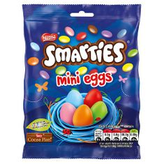 Smarties Mini Eggs Bag - 80g- - Sold Out 2021