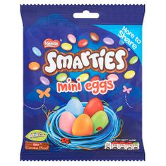 Smarties Mini Eggs Pouch - 240g
