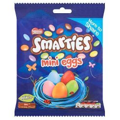 Smarties Mini Eggs Pouch - 240g - 8 In Stock