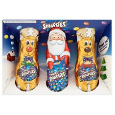 Smarties Santa & Friends  - 63g - Not Available 2019