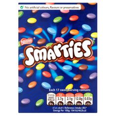 Smarties Carton - 120g - Sold Out