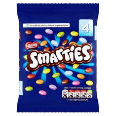 Smarties Tube 4pk - 152g - Sold Out