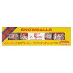 Tunnock's Snowballs - 120g - Sold Out