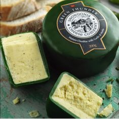 Snowdonia Cheese Co - Green Thunder - 2 in stock
