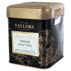 Taylors of Harrogate Special Rare Assam Leaf Tea Tin - Hajua Estate - 100g  - sold out