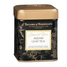 Taylors of Harrogate Special Rare Assam Leaf Tea Tin - Halmari Estate - 100g - 3 In Stock