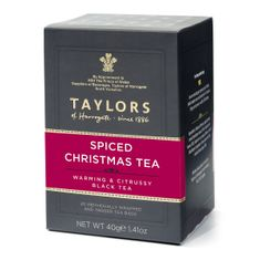 Taylors of Harrogate Spiced Christmas - 20ct Bags - sold out 2020