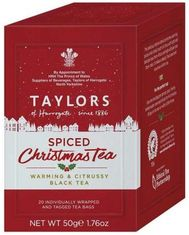 Taylors of Harrogate Spiced Christmas - 20ct Bags