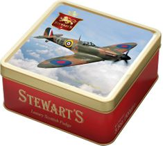 Stewart's Spitfire Fudge Tin - 100g - Not Available 2019