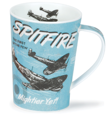 """Dunoon Spitfire """"The First Of Few"""" Dare Devils Plane - Angrll"""
