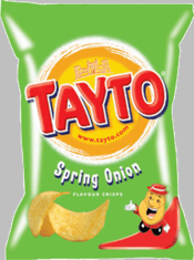 Tayto NI Spring Onion - 37.5g - Sold Out