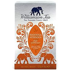Williamson Traditional Afternoon Tea - 50ct