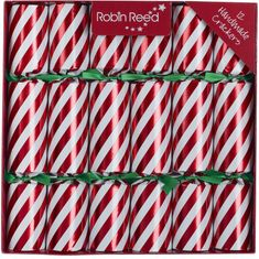 Robin Reed Candy Stripe Crackers - 12pk - Sold Out